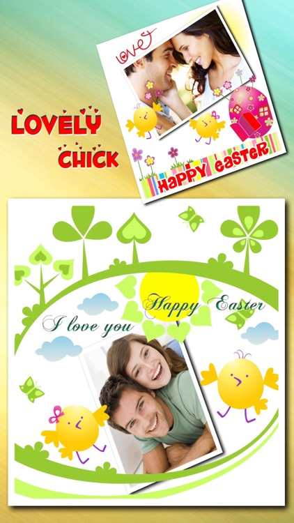 Easter Picture Frames Stickers