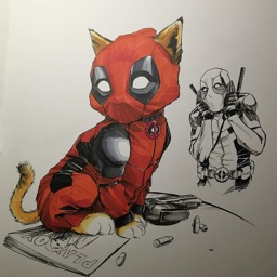 Unique Wallpapers for Deadpool Comics Free HD + Emoji Stickers and Fan Ar