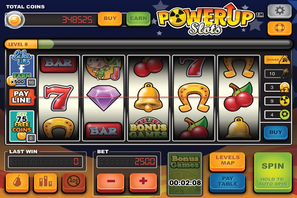 Power Up Slot Machine