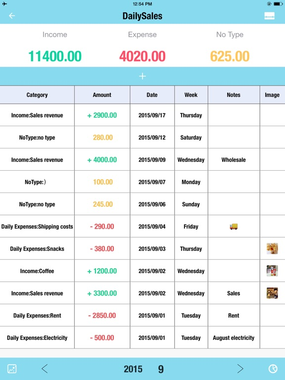daily sales tracker hd inventory items storage app price drops