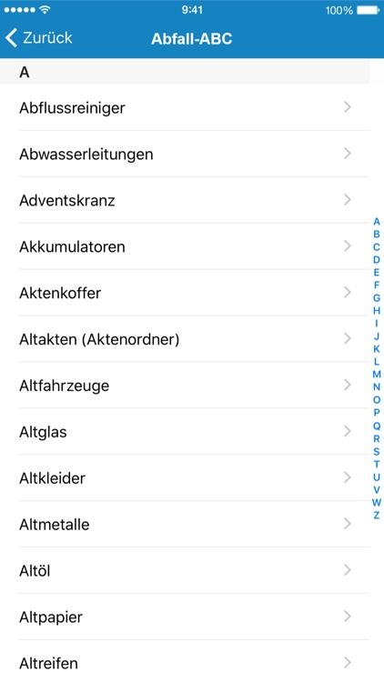 Abfall App VIVO Warngau screenshot-4