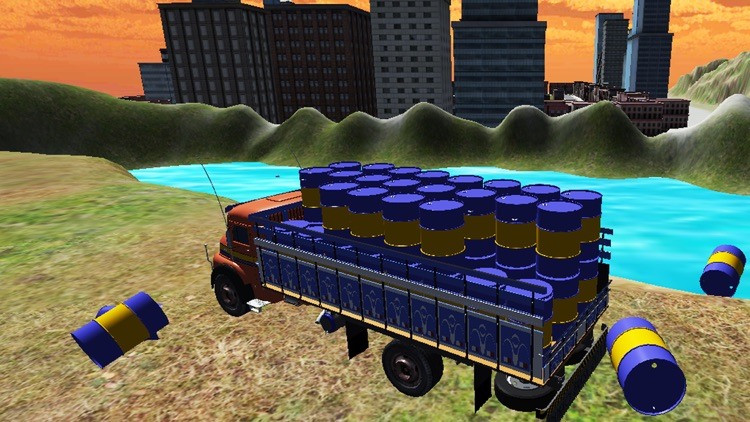 City Cargo Truck Driver 3D: Transportation Trailer