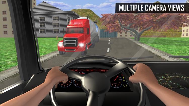 Milk-Man: Offroad Transporter Trailer Truck Drive screenshot-4