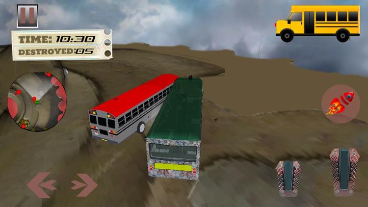 School Bus Derby Crash Racing screenshot-4