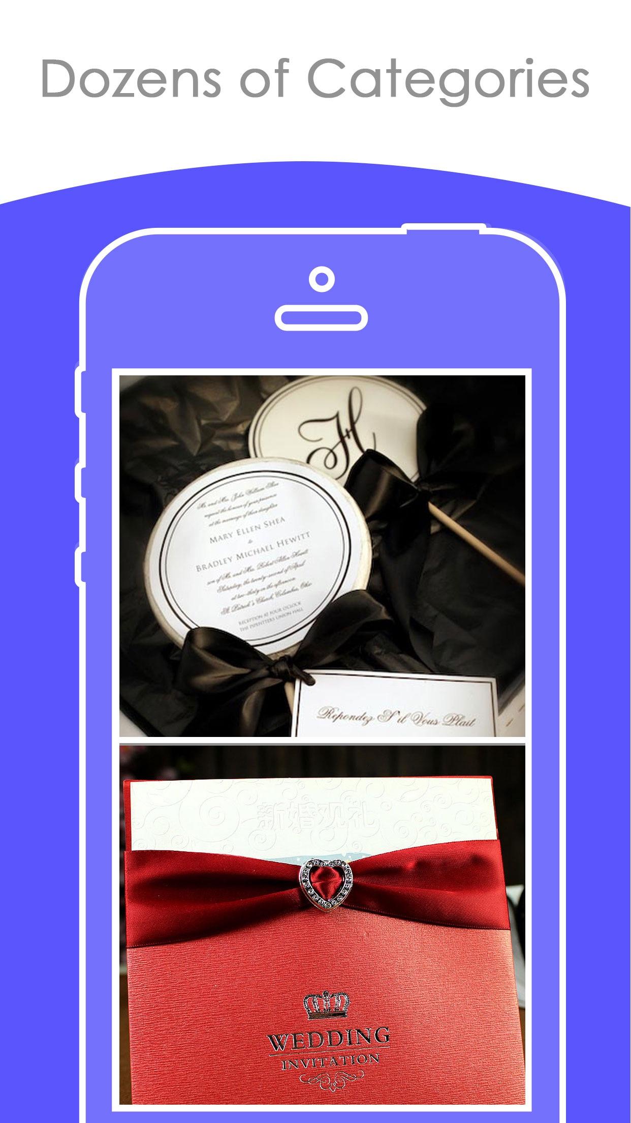Free Wedding Card Designs    Best Invitation Cards Screenshot
