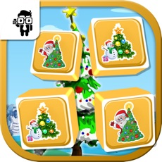 Activities of Match Xmas Tree Cards Kid Game