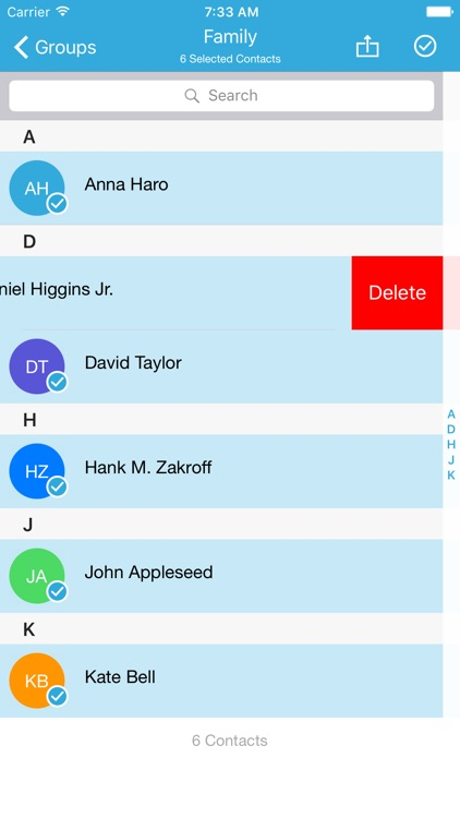 Group Text Pro : SMS & Email 2 Groups of Contacts
