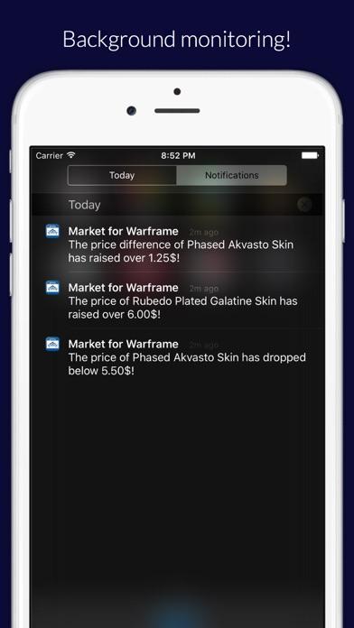 Market for Warframe Screenshot