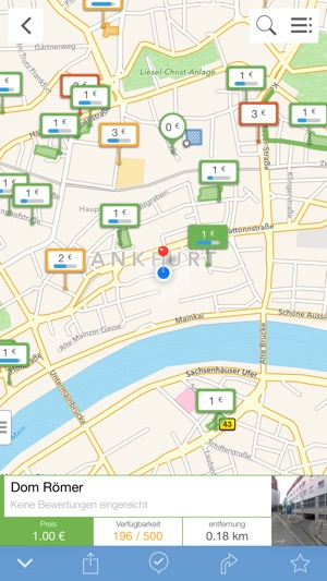 Parkopedia Parken Screenshot