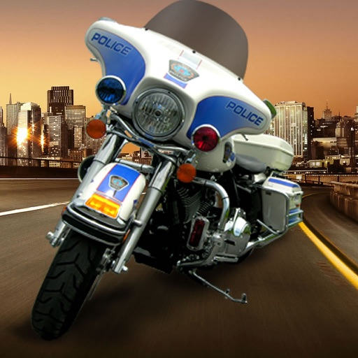 A City Guardian Motorcycle - Chase Scanner Game