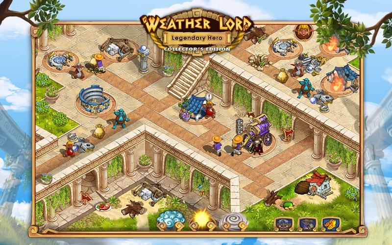 Weather Lord: Legendary Hero screenshot 2