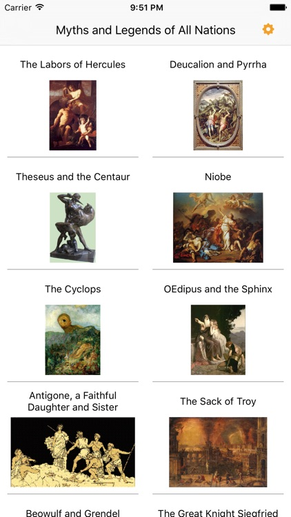 Myths and Legends of All Nations - AudioEbook