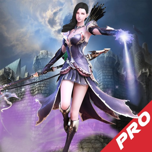 Arrow Purple Fantasy Pro - Best Archery Tournament Game icon