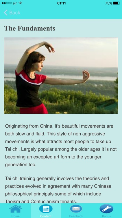 Tai Chi For Beginners - Stages of Development