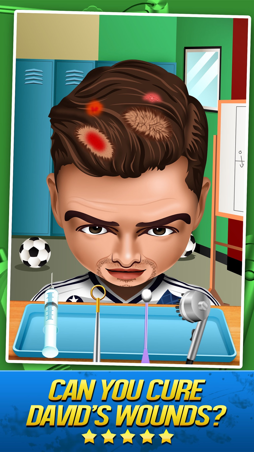 Soccer Doctor Surgery Salon – Kid Games Free Cheat Codes