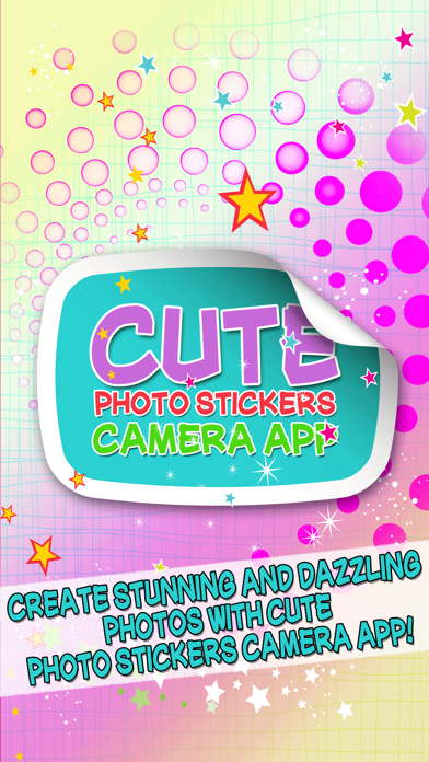 Cute Photo Stickers Camera App – Edit Pictures