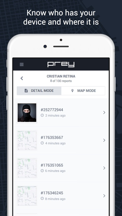 Prey Find my Phone Tracker GPS screenshot-3