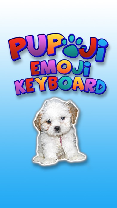 Pupoji - Cute Dog Emoji Keyboard Puppy Face Emojis Screenshot