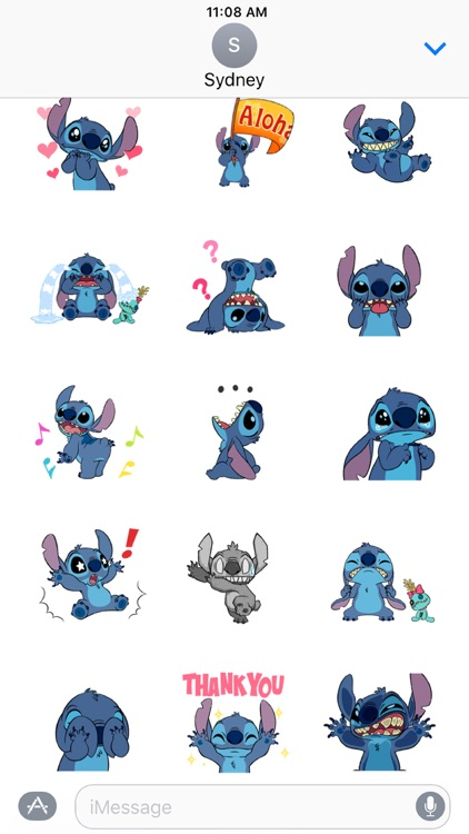 Disney Stickers: Stitch