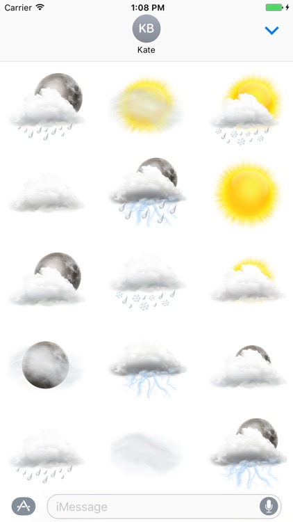 Weather stickers Pack