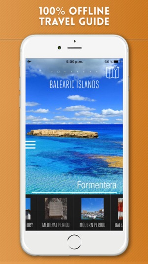 Balearic Islands Travel Guide and Offline Map on the App Store