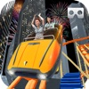 VR Scary Roller Coaster : Crazy Ride 3d