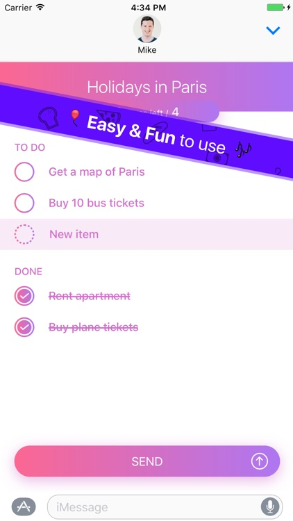 Do With Me - To-Do Lists With Your Friends