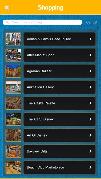 Great App for Disney's Animal Kingdom screenshot-3