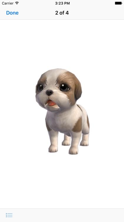 Shih Tzu - Animated Puppy Stickers screenshot-4