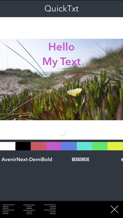Text on Photo - Write Custom Text on Photos