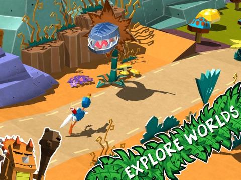 Скачать Cartoon Survivor - Jurassic Adventure Runner