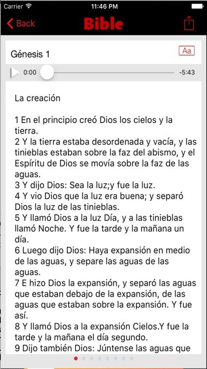 Biblia Reina Valera (Audio) screenshot-3