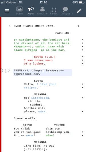 WriterDuet en App Store