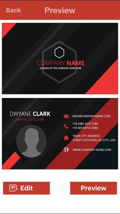 VR Business Card