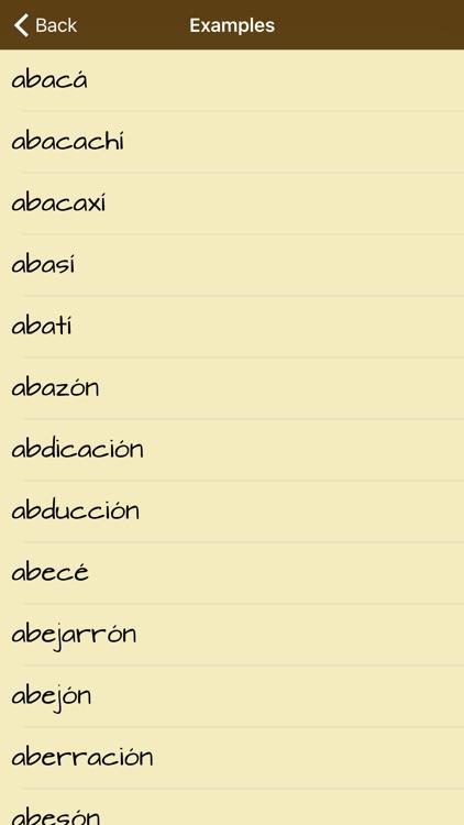 Spanish Spelling Tips screenshot-3