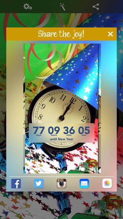 New Year Countdown‼ screenshot-3