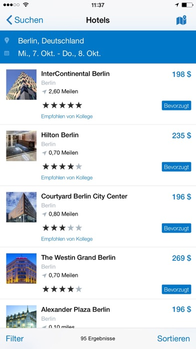 Screenshot for SAP Concur in Austria App Store