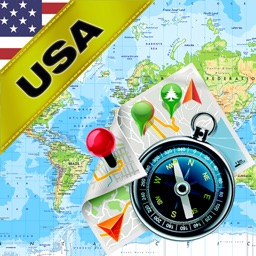 America, United States (US) - Offline Map & GPS Navigator