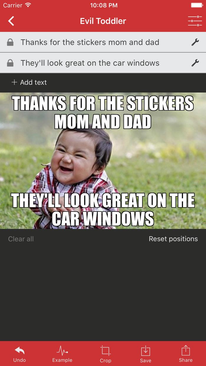 Meme Generator by ZomboDroid Screenshot