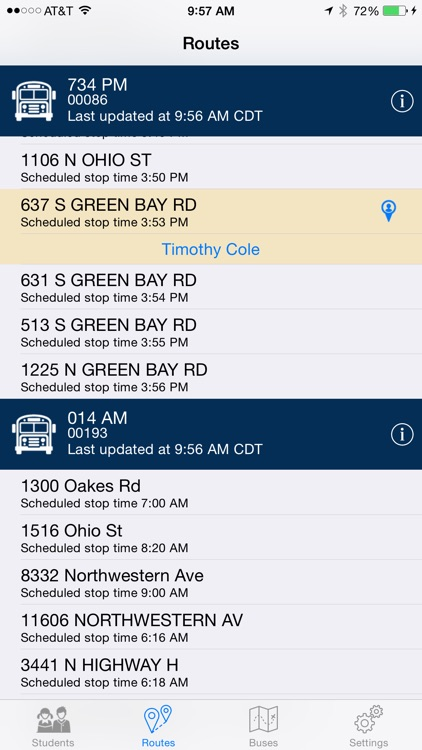 Durham Bus Tracker screenshot-2