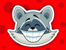 Raccoon - Sticker Pack