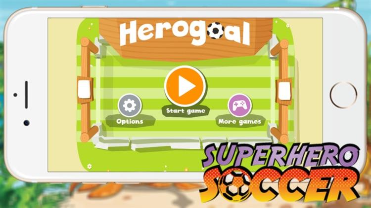 Super Hero Soccer - Kick Goal Sport Games for Kids