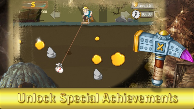 Classic gold miner free - The gold digging game HD screenshot-3