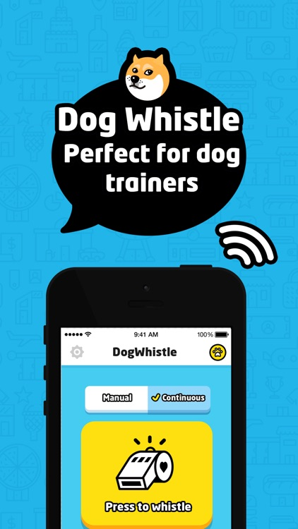 Dog Whistle Free to Train Dog screenshot-0