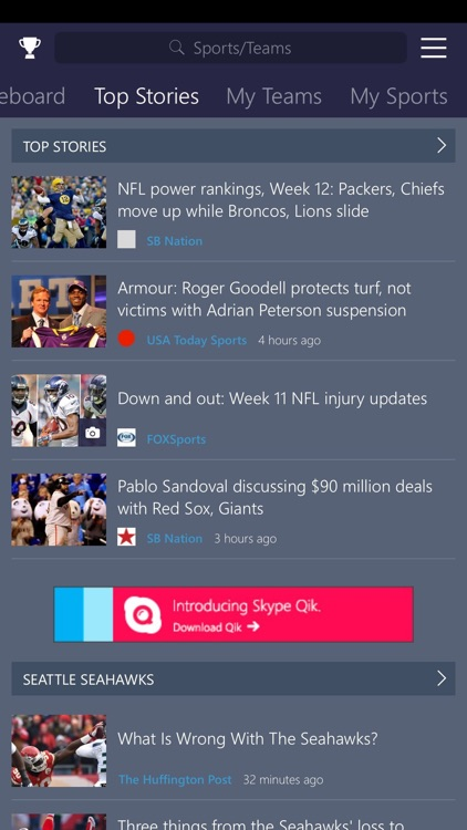 MSN Sports screenshot-1