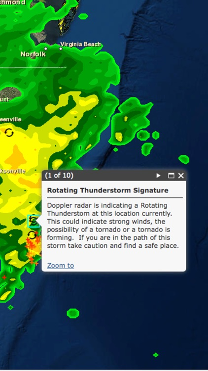 Storm Tracker Weather Radar screenshot-3
