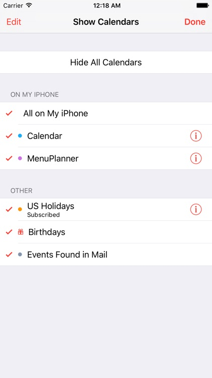Home Menu Planner screenshot-2