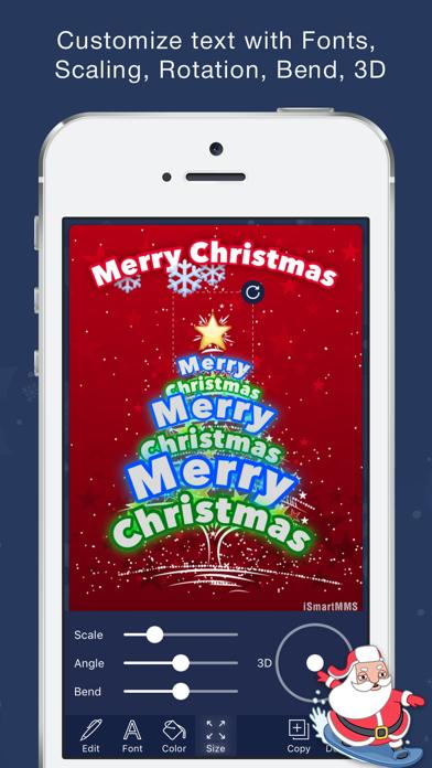 Christmas greetings cards screenshot two