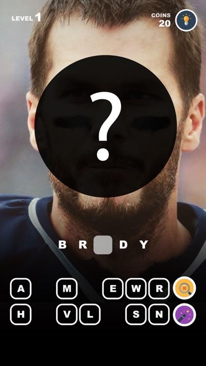 Guess Football Players – photo trivia for nfl fans screenshot-4
