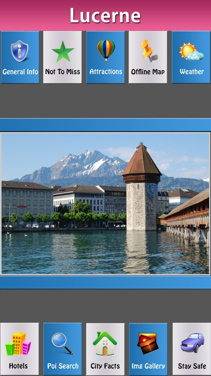 Lucerne Offline Map Travel Explorer